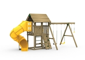 all pro silver playset front view