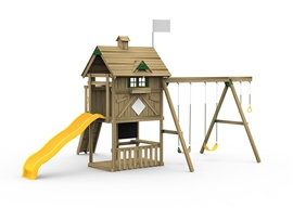 Grand Slam Bronze Playset Front View