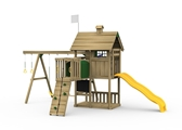 Grand Slam Bronze Playset Back View