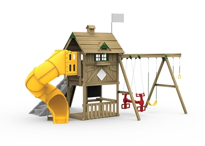 Grand Slam Gold Playset Front View