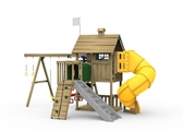 Grand Slam Gold Playset Back View