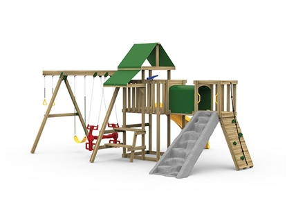 Varsity Gold Playset front view