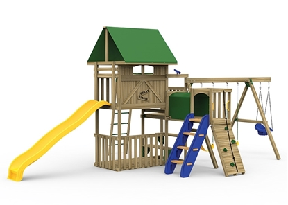 Great Escape Playset Bronze front