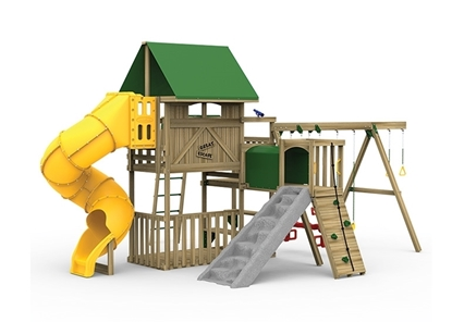 Great Escape Gold Playset front view
