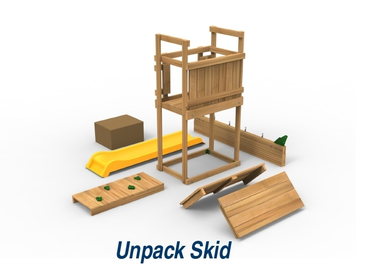 Picture of Play Maker Swing Set