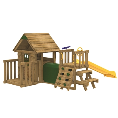 Picture of Play House w/ Toddler Tunnel & Slide