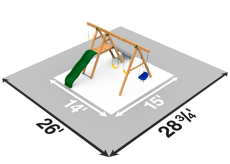 Picture of Mesa Gold Swing Set