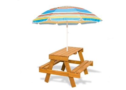 Picture of Picnic Table w/ Umbrella